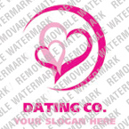 Dating Logo  Template 17213
