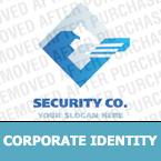Security Corporate Identity Template 17286