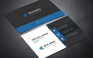 Business Card V. 30 Corporate identity template
