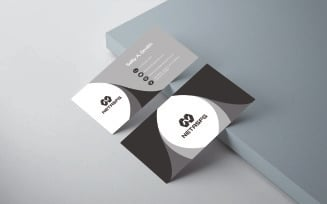 Free Morden Business Card - Corporate Identity Template