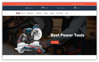 Vokots - Tools Store OpenCart Template