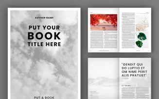 Book Layout (48 pages)(A4+US) Magazine Templates
