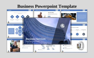 Business Services - Creative Business PowerPoint Template