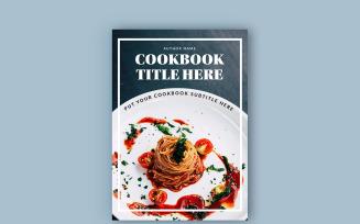 Cookbook / Recipe Book Layout Magazine Templates