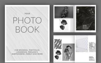 Photo Album Book Layout (A4+US). Magazine Templates