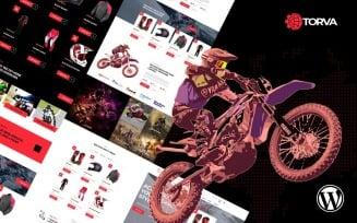 Trova Sports Motor Bike Shop WooCommerce Theme