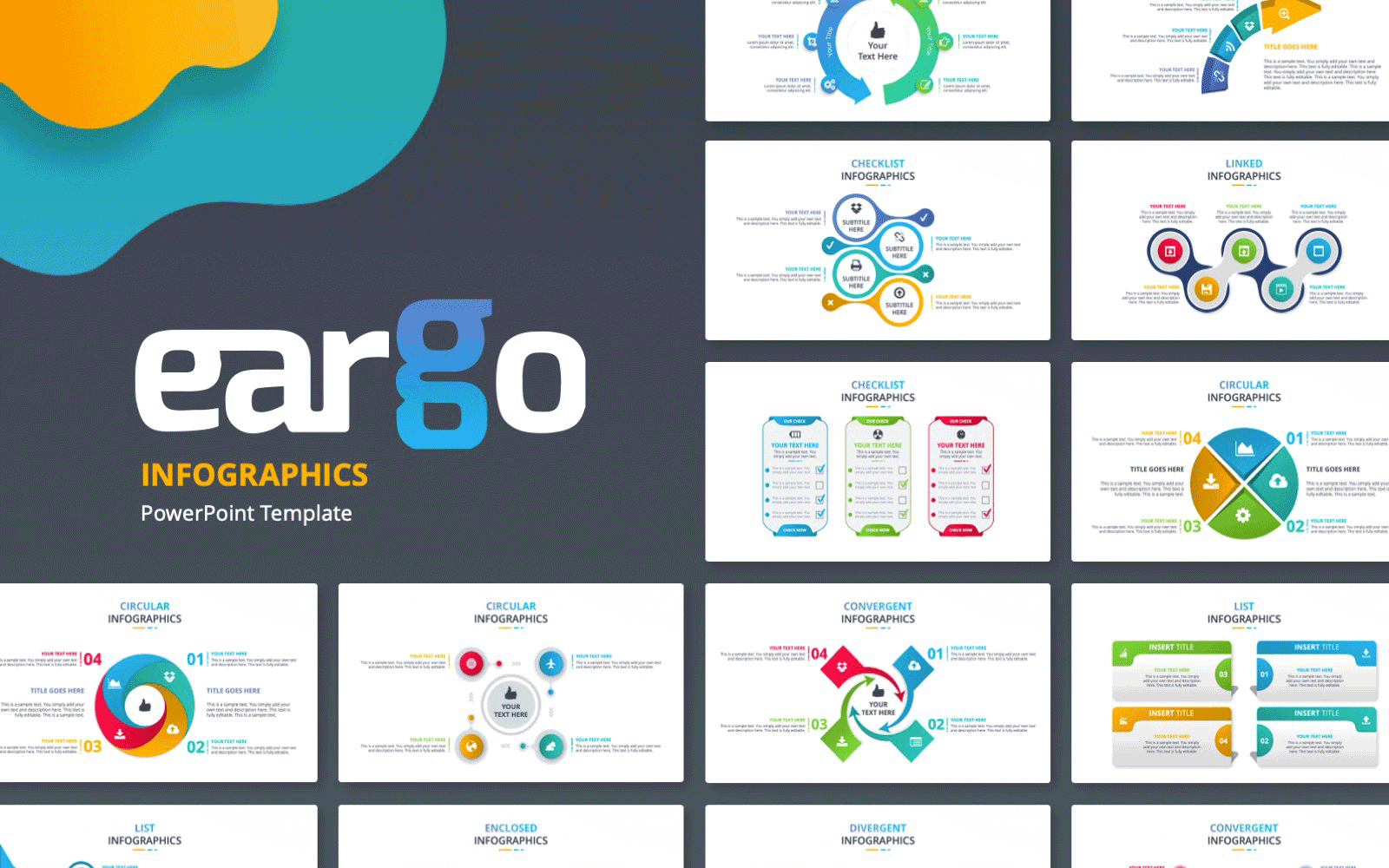 Eargo 4 – Infographics PowerPoint template