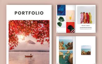Portfolio/Lookbook Layout (A4+US) Magazine Templates