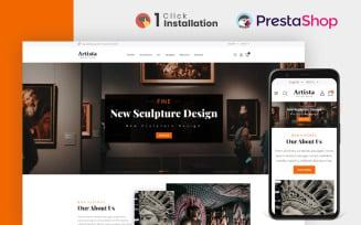Artista - Art Gallery Store PrestaShop Theme