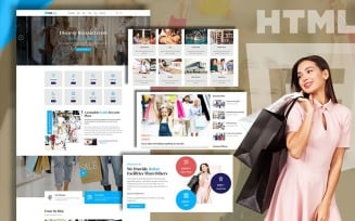 Mallvent Shopping Mall and Outlet Website template