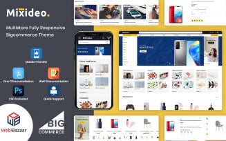 Mixidio - Multipurpose Modular BigCommerce Theme powered by Stencils