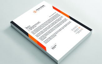 Clean Letterhead Corporate identity template