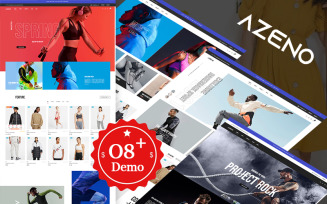 Azeno Elementor – Fashion & Sport Store Prestashop Theme