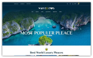 Waytotrip - Travel Store OpenCart Template