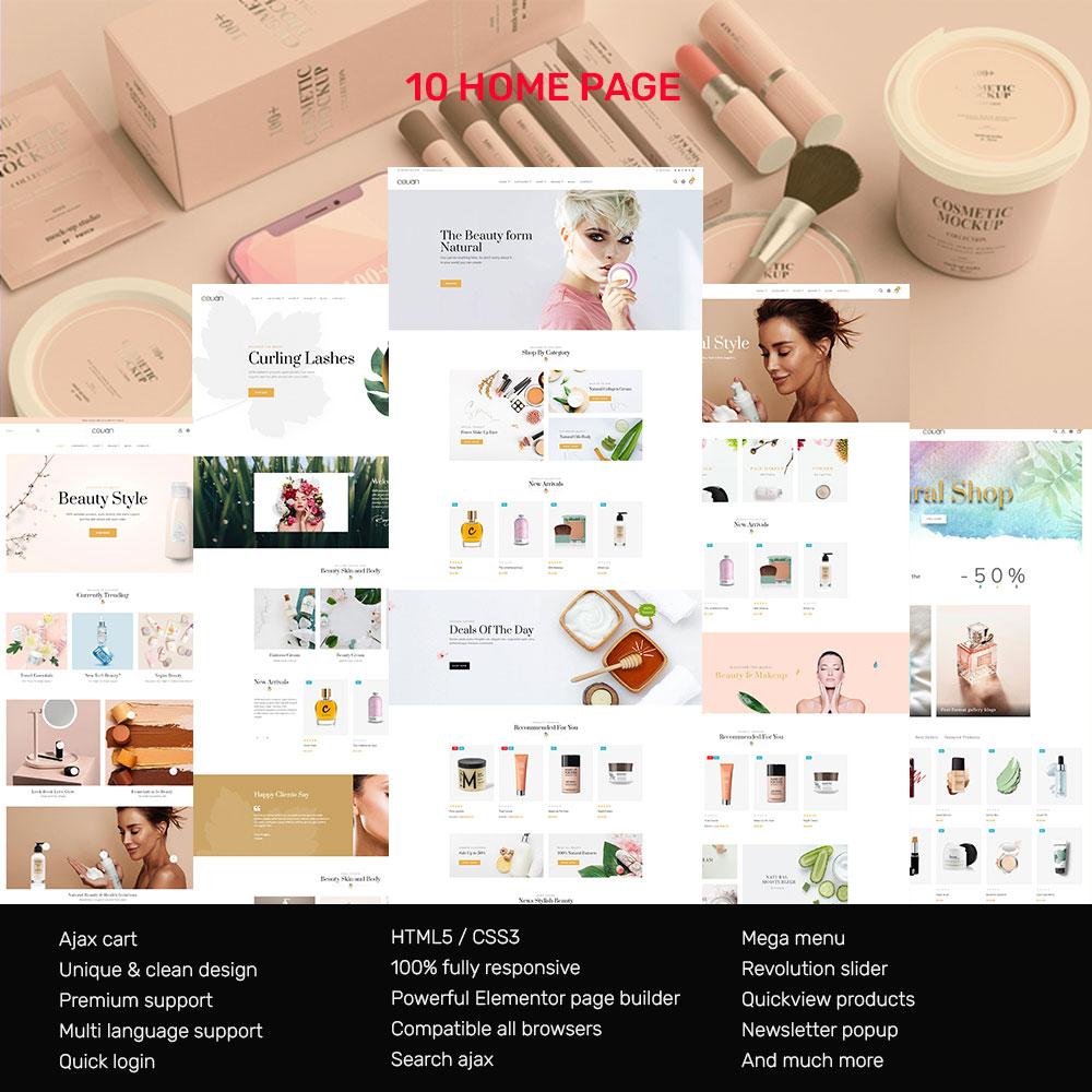 Covan Cosmetics Store Prestashop-thema