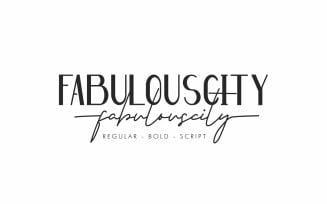Fabulouscity Font