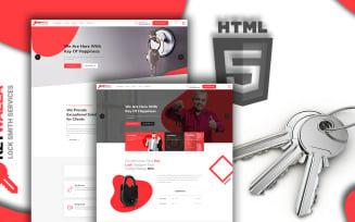 Keywalla- Key Service Website Template