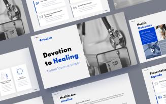 MedLab - Medical Google Slides Template
