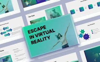VRTech - Virtual Reality/Tehnology Google Slides Template
