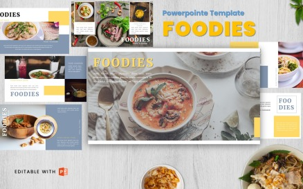 Foodies - Powerpoint Template PowerPoint Template