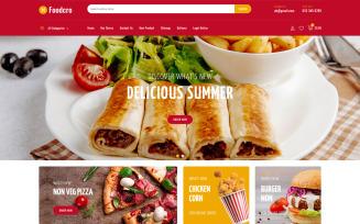 Foodcro Restaurant Store PrestaShop Theme