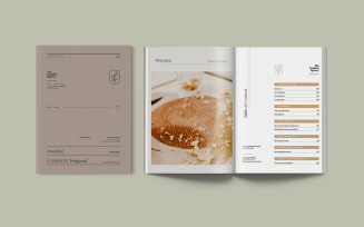 Simple and Elegant Company Proposal Indesign