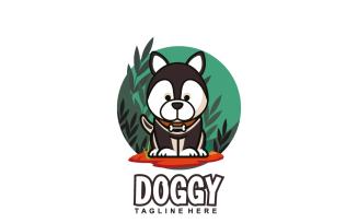 Dog Mascot Logo Template