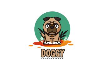 Pethouse Dog Logo Mascot