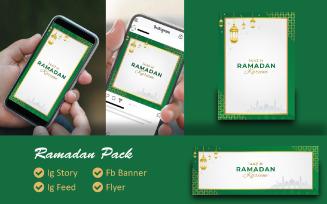 Ramadan Kareem 2021 Pack Social Media