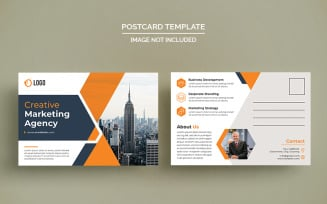 Agency Postcard Design Corporate Template