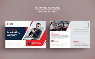 Creative Postcard Design Corporate Template