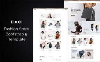 Edon - Fashion Store Bootstrap 5 Website Template