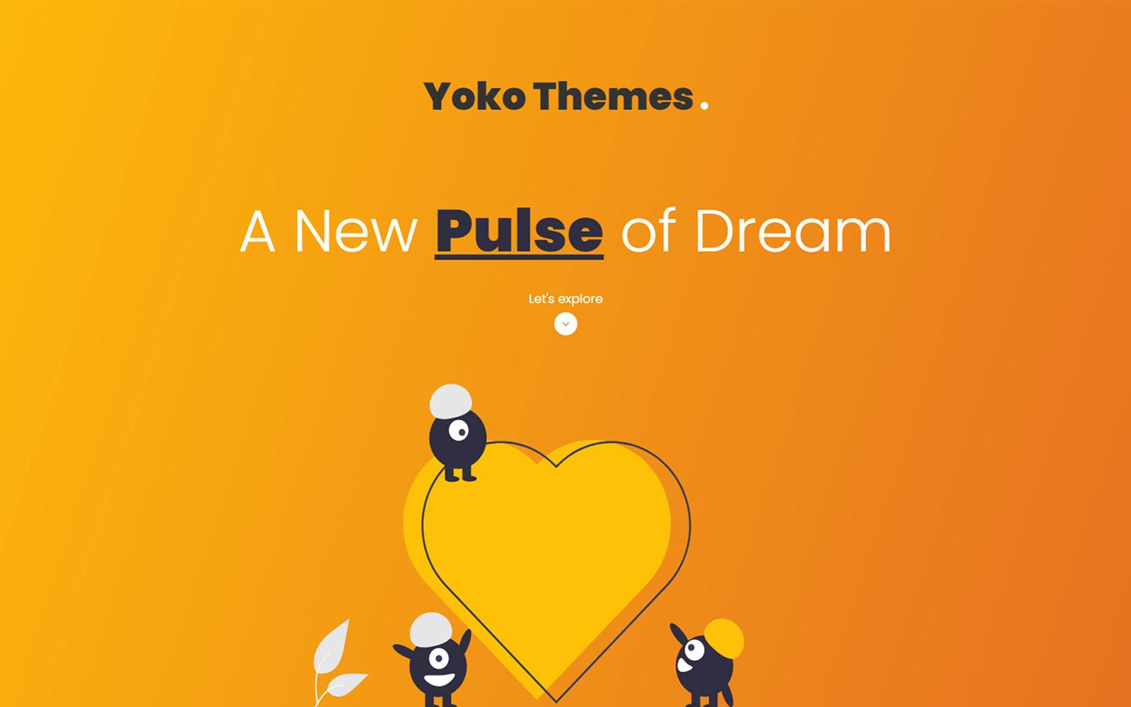 Yoko - One Page Personal Portfolio HTML5 Template