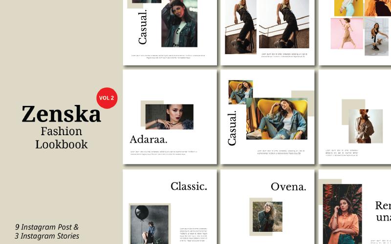 Zenska Vol - Instagram PowerPoint Template