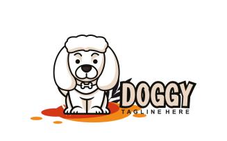 Doggy Mascot Logo Design