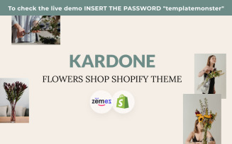 Kardone Flowers Shop Shopify Theme
