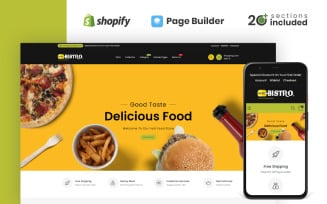 Bistro Food Store Shopify Theme