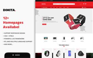 Dimita - Electronics Ecommerce Store PrestaShop Theme