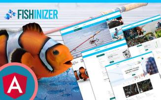 Fishinizer Fishing & Marine Angular JS Template