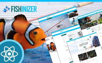 Fishinizer Fishing & Marine React JS Template