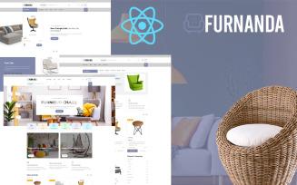 Furnanda - Furniture Shop React Template