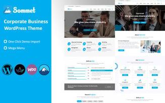 Sommet - Corporate Business WordPress Theme