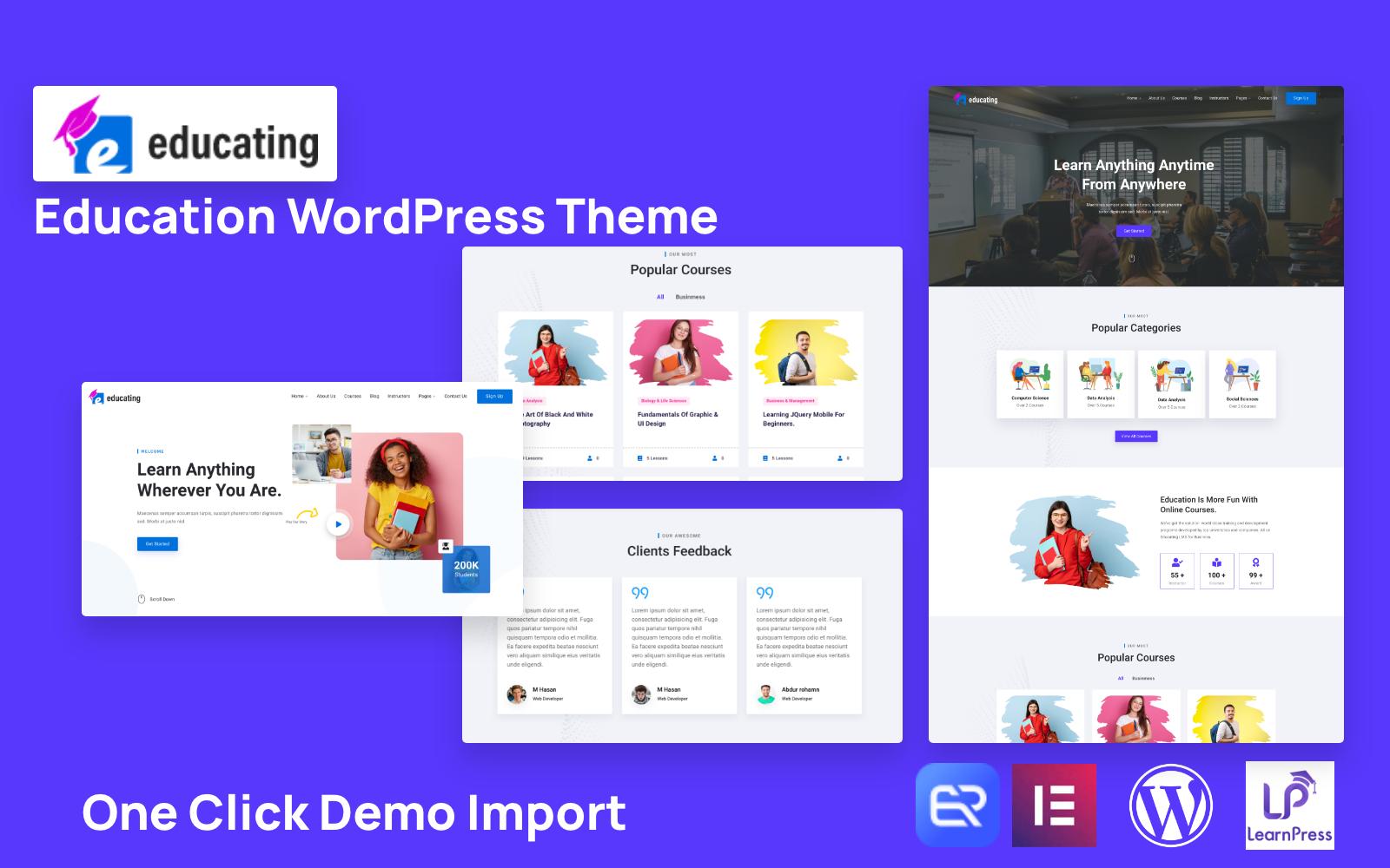 Educating – Education WordPress Theme