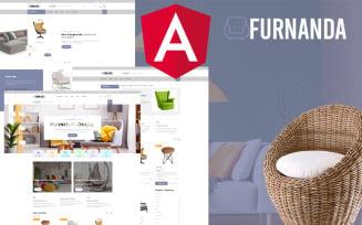 Furnanda - Furniture Shop Angular Website Template