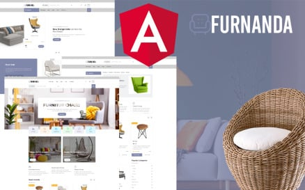 Furnanda - Furniture Shop Angular Website Template
