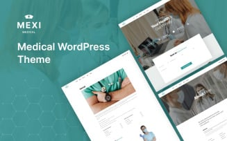 Mexi - Medical WordPress Theme