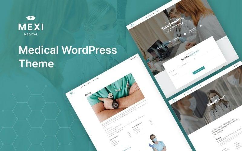 Mexi - Medical WordPress Theme