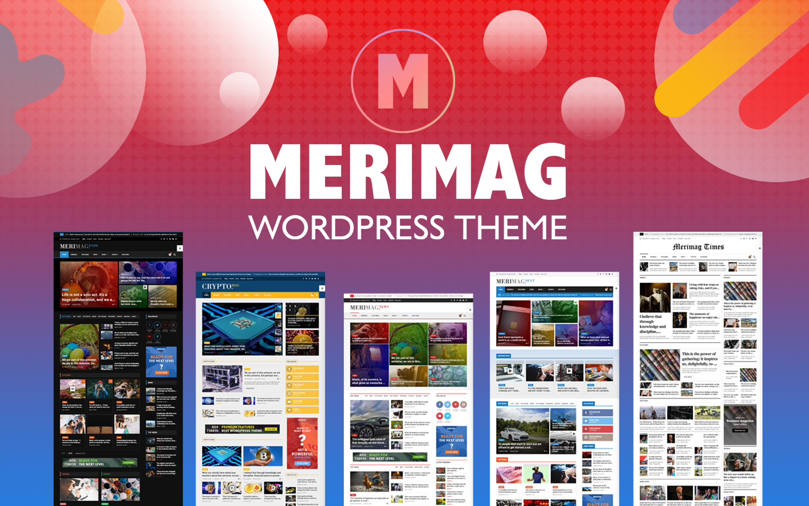 Merimag - Elementor Blog Magazine and News Wordpress Thème