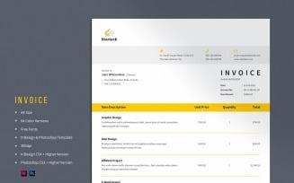 Minimal Invoice Corporate Template