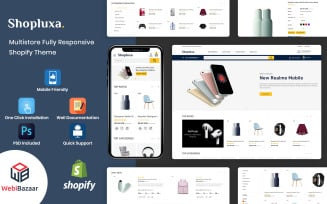 Shopluxa - Multipurpose Premium Shopify Website Template